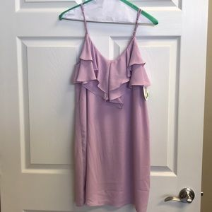 Everly strap mini dress-never worn